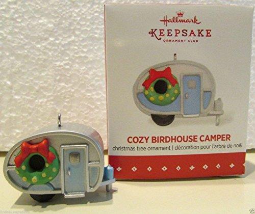 QXC5149 Cozy Birdhouse Camper Special Edition Local Club Repaint 2015 Hallmark Keepsake Miniature Ornament (Hallmark Campers compare prices)