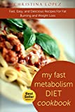 Fast Metabolism Diet:My Fast Metabolism Diet Cookbook: Fast, Easy, and Delicious Recipes For Fat Burning and Weight Loss: Speed up metabolism, slim, effective ... for Weight Loss Book 2) (English Edition)