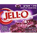 JELL-O Gelatin Dessert, Grape, 6 Ounce