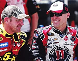 Buy 2X AUTOGRAPHED 2013 Kevin Harvick (Jimmy Johns) Clint Bowyer (5 Hour Energy) Pre-Race 8X10 SIGNED NASCAR Glossy Photo w ... by Trackside Autographs
