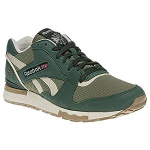 Reebok Gl 6000 Trainers Green 9 UK