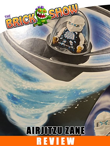 LEGO Ninjago Airjitzu Zane Review 70742