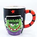 Ceramic Halloween Freaky Friendz Coffee Mug - 16oz (Frankenstein)