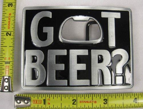 Got Beer Metal Belt Buckle Bottle Opener