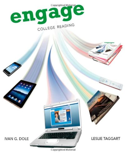 Engage: College Reading (New 1St Editions In Developmental English)