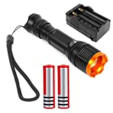 Smart&Cool T6 LED Flashlight 5 Mode Zoomable Torch (Flashlight ONLY)