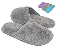 HomeTop Womens Cozy Plush Fleece Sli…