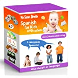 SPANISH FOR KIDS: Early Language Learning System (Spanish in just 20 minutes) Kid Start Spanish - 4 DVDs + Music CD + Large Book + 100 Flashcards + Games + Apps included. ~ Kids Spanish DVD -...
