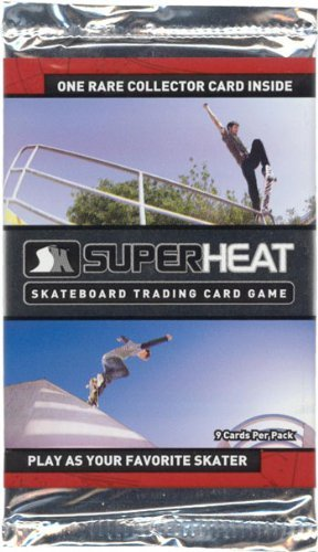 Super Heat Skateboard Trading Card Game Throwdown Booster Pack - 1