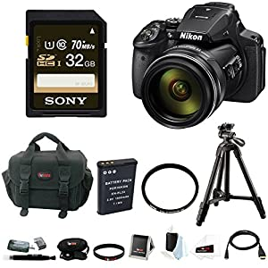 Nikon Coolpix P900 Camera with Filter and 32GB Deluxe Kit