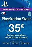 Carte Playstation Network 35 EUR [Code Jeu PSN PS4, PS3, PS Vita - Compte français]