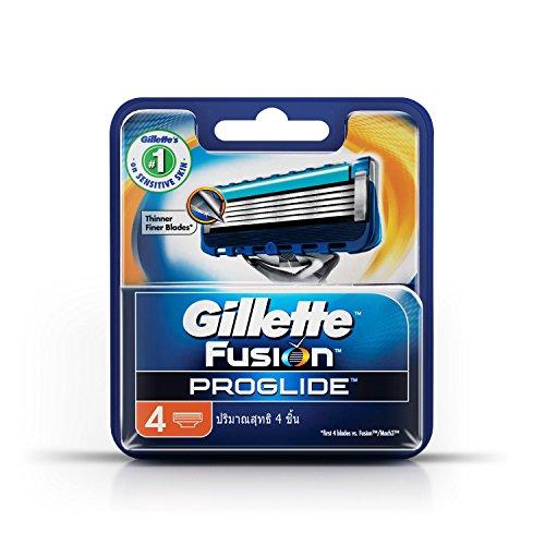 Gillette Fusion ProGlide Manual Men's Razor Blade Refills, 4 Count (Gillette Electric Razor compare prices)