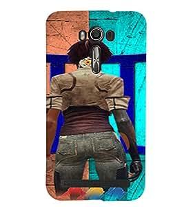 Fuson 3D Designer Back Case Cover For Asus Zenfone 2 Laser ZE550KL