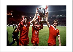 Liverpool Fc Legends - 1978 European Cup Final Photo Memorabilia