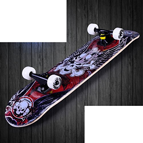 four-wheeled-skateboard-professional-skateboarder-double-up-skateboards-adult-skate-childrens-brush-