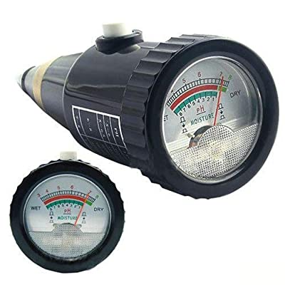 Etekcity High Precision 1% 0.2pH Indoor/Outdoor Soil pH & Moisture Meter Tester