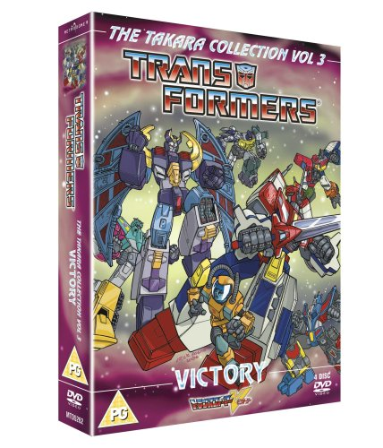 Transformers - Takara - Victory - Animated Box Set (Four Discs)  [DVD]