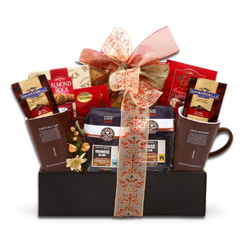 Snow Day! Warm Treats Coffee Bean And Tea Leaf Gift Basket