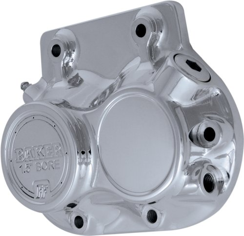 Baker Drivetrain - Formed Transmission Side Cover Frt 5-Sp Chrome 455-56C Pu