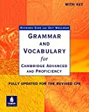 GRAMMAR AND VOCABULARY FOR CAE & CPE W/KEY (Grammar & vocabulary)