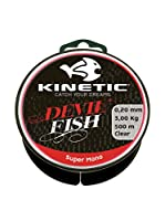 Kinetic Filo Da Pesca Super Mono 0,20 mm Natural