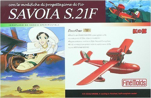 Fine Molds Porco Ross: Savoia S.21 (Late Version) Model Kit (1:72 Scale)