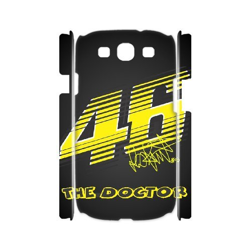 Samsung Galaxy S3 I9300 Phone Case Valentino Rossi VR46 Moto GP Logo 46 WE734622