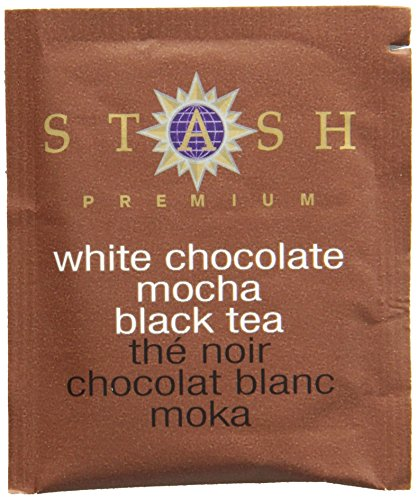 Stash Tea White Chocolate Mocha Tea Bags, 100-Count
