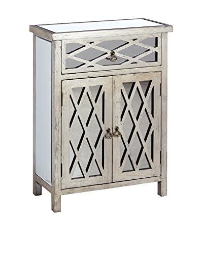 Huisraad meubilair Drawer voetstuk zilver