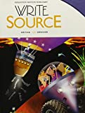 Write Source: Student Edition Hardcover Grade 8 2012