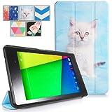 Poetic CoverMate case for Google Nexus 7 2nd Gen 2013 Cute Kitten (3 Year Manufacturer Warranty From Poetic)