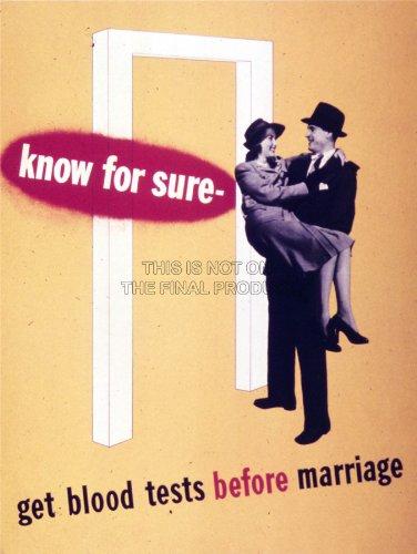 Propaganda Political Marriage Disease Blood Test Fine Art Print Poster Bb8214B