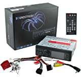 Reproductor de 1DIN Pantalla desmontable LCD 3.2  AV  fuente w / desconectable Soundstream VR320