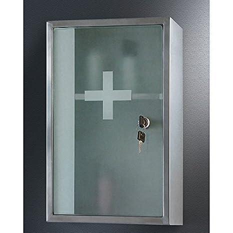 Ketcham 9.75W x 15.75H-in. Lockable Surface Mount Medicine Cabinet by Ketcham Medicine Cabinets
