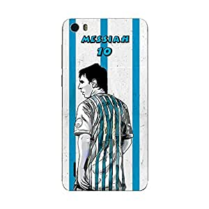 ezyPRNT Huawei Honor 6 Lionel Messi 'Messiah' Football Player 3 back mobile skin sticker