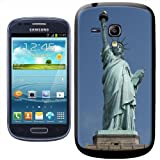 Fancy A Snuggle Statue of Liberty New York USA Clip-on Hard Back Cover for Samsung Galaxy S3 Mini i8190
