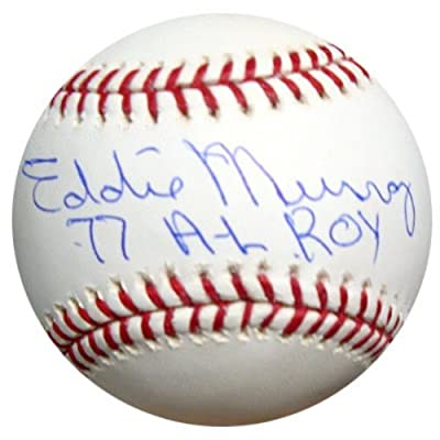 "Eddie Murray Autographed Official Mlb Baseball Baltimore Orioles ""77 Al Roy"" Psa/dna Stock #9882"