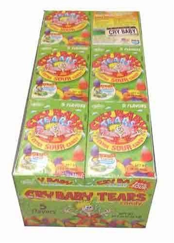 Cry Baby Tears Xtra Sour Candy 1 98oz - 24 Unit PackB0006GRBYQ