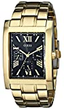 GUESS Men's U0484G3 Retro Gold-Tone Multi-Function Watch