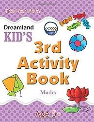 3rd Activity Book - Maths (Kids Activity Books)