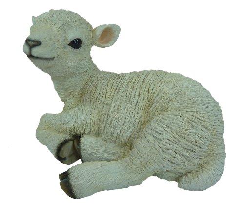 Real Life Large Lamb Garden Ornament (SizeBM)