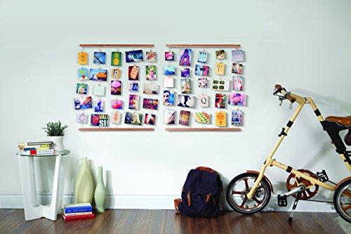 Umbra 315000 660 hangit cornice portafoto da parete wall decor for Portafoto verticale da parete