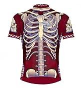 Primal Wear Bone Collector Skeleton Cycling Jersey