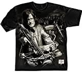 Official T Shirt THE WALKING DEAD Zombie Daryl Dixon Crossbow L