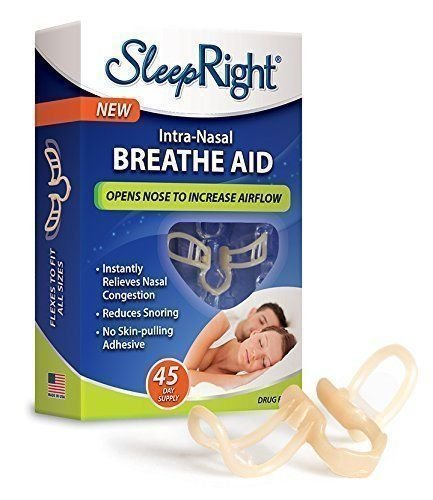 Intra-Nasal Breathe Aid 45-Day Supply (Nasal Inserts compare prices)