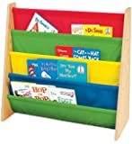 2 x Tot Tutors Book Rack, Primary Colors