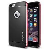 iPhone 6 Plus ケース, Spigen® [アルミニウム バンパー] ネオ・ハイブリッド メタル Apple iPhone (5.5) アイフォン 6 プラス カバー (国内正規品) (メタル・レッド 【SGP11073】)