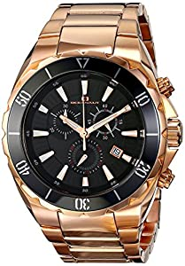 Oceanaut Men's OC5126 Seville Analog Display Quartz Rose Gold Watch