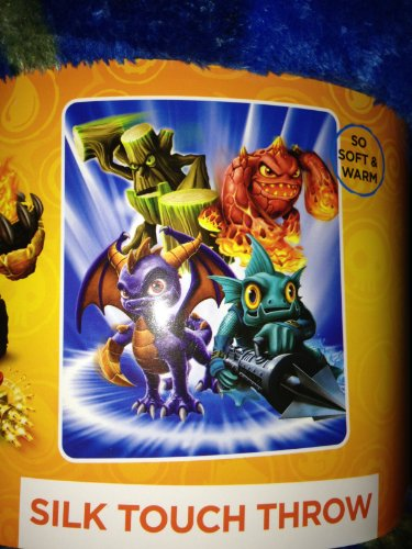 "Cheap Skylanders Giants Silk Touch Throw 50"" x 60"""