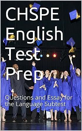 chspe sample essay questions